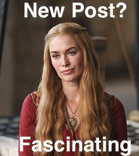 Cersei bored