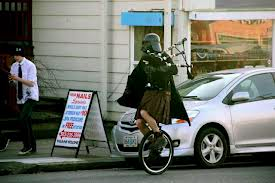Darth Vader unicycle