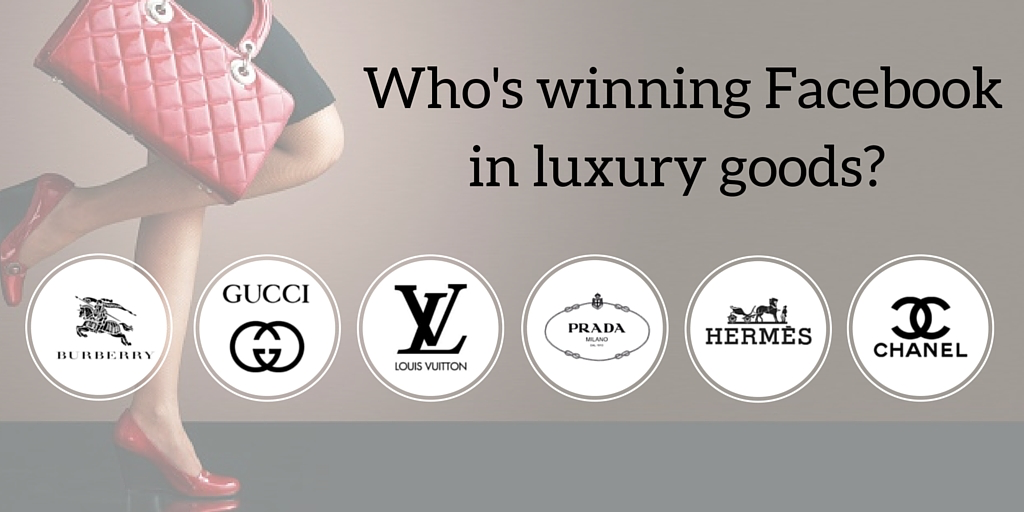Analyzing top luxury brands on Facebook